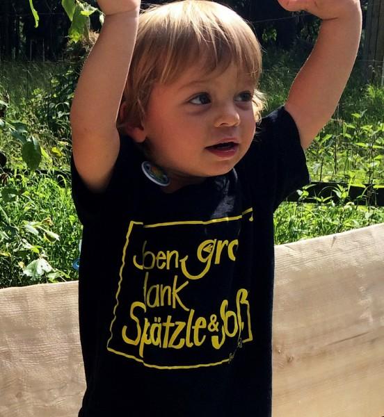 T-Shirt - kinder- I ben groß dank Spätzle & Soß