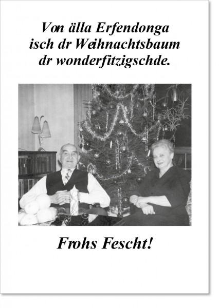Von allen Erfindungen ist Weihnachten ...
