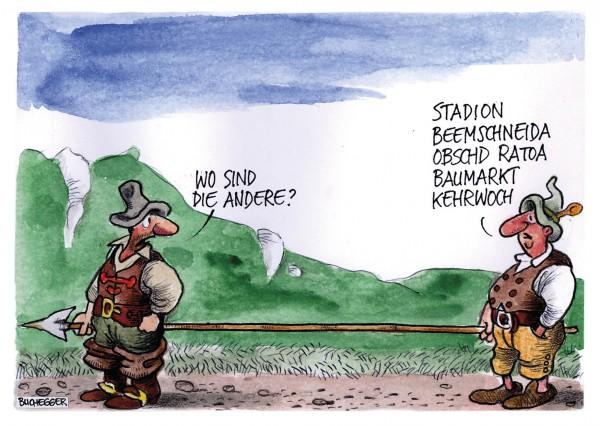 Postkarte - Ed. Sepp Buchegger - Wo sind die andere?