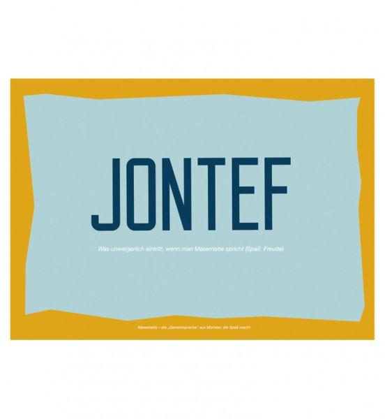 Postkarte - Jontef