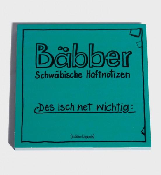 """Bäbber - """"Des isch net wichtig"""""""