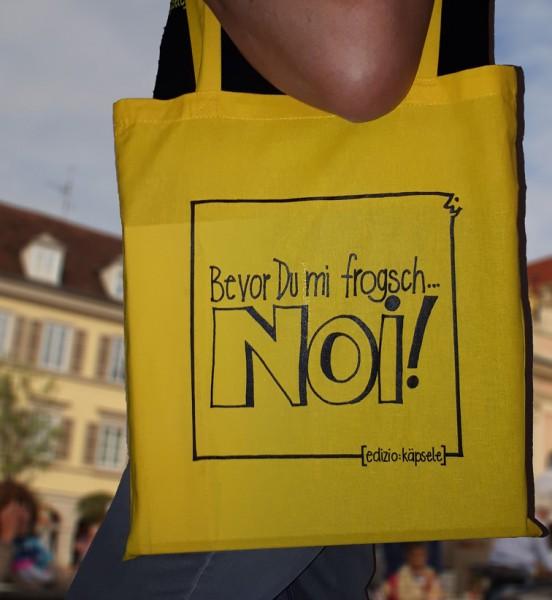 Schwäbischer Einkaufsbeutel - Bevor Du mi frogsch...