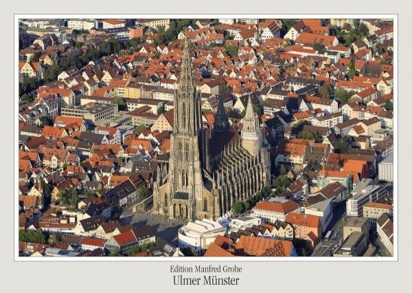 Postkarte - Ed. Manfred Grohe - Ulmer Münster