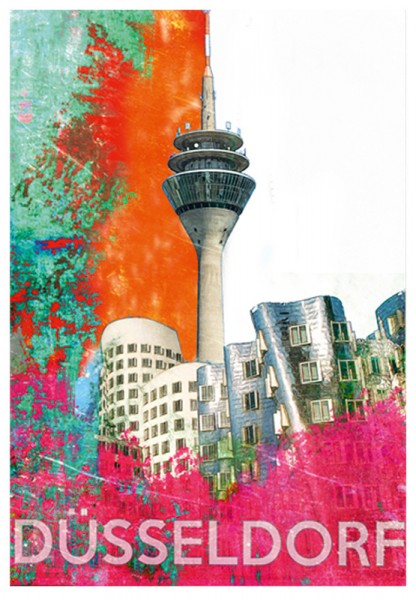 "Grußkarte - ""Düsseldorf"""