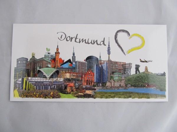 Postkarte- Dortmund