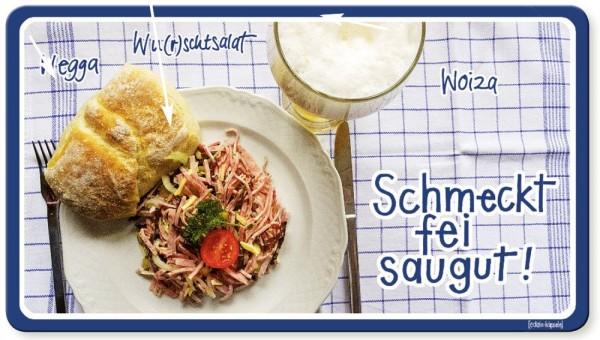 Vesperbrettle - Schmeckt fei saugut!