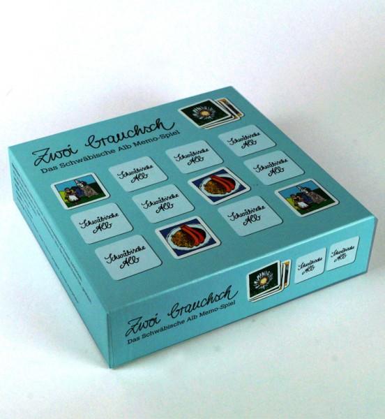 Zwoi brauchsch - Memospiel / Edition Bachschuster