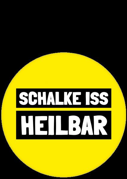 Aufkleber - SCHALKE ISS HEILBAR