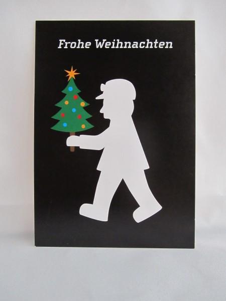 """Postkarte - """"Frohe Weihnachten"""""""
