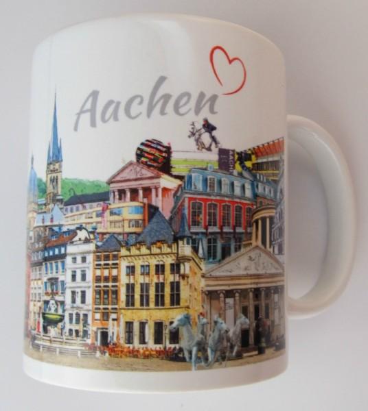 Tasse - Röttgers - Panorama Aachen