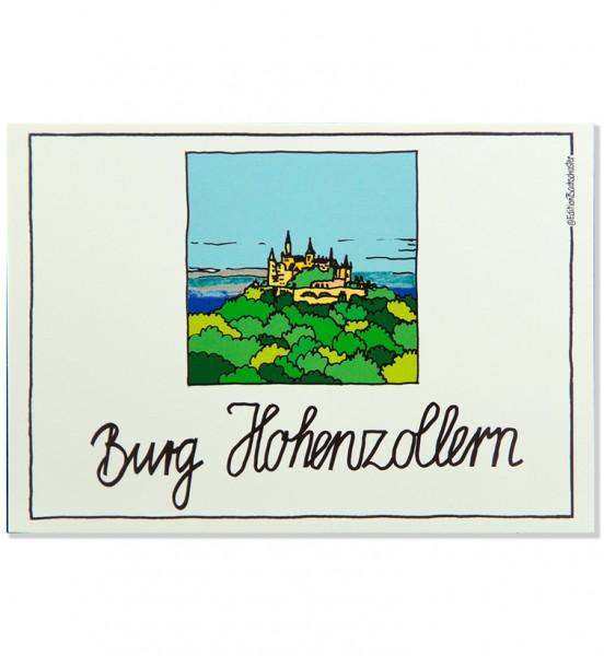 Postkarte - Schwäbische Alb - Burg Hohenzollern / Edition Bachschuster
