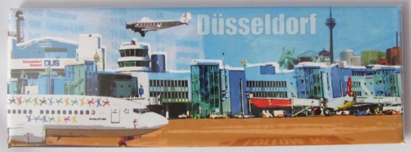 Panoramamagnet - Düsseldorf Flughafen