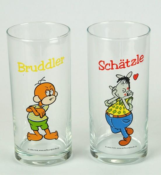 Trinkgläser 2er Set - Schätzle & Bruddler