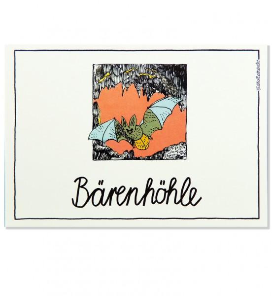 Postkarte - Schwäbische Alb - Bärenhöhle / Edition Bachschuster
