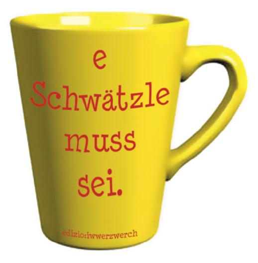 Badische Tasse Tasse Du Bisch min Schätzli | edizio:käpsele