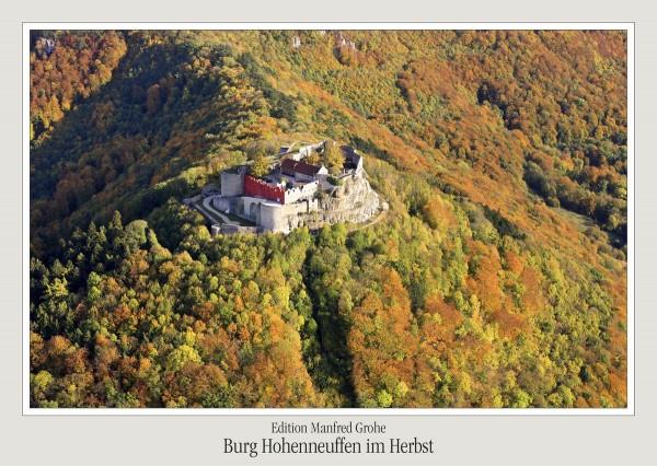Postkarte - Ed. Manfred Grohe - Hohenneuffen im Herbst