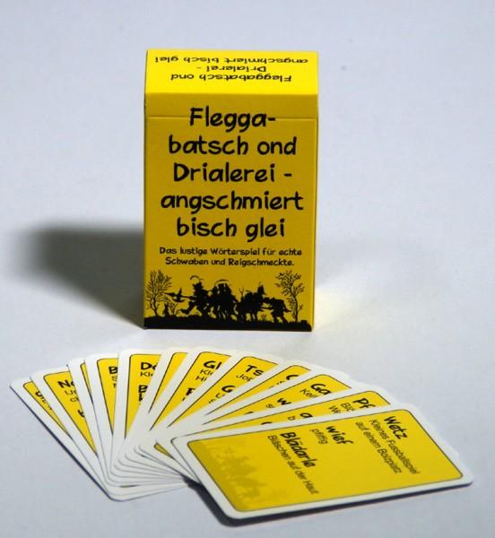 Kartenspiel Fleggabatsch ond Drialerei