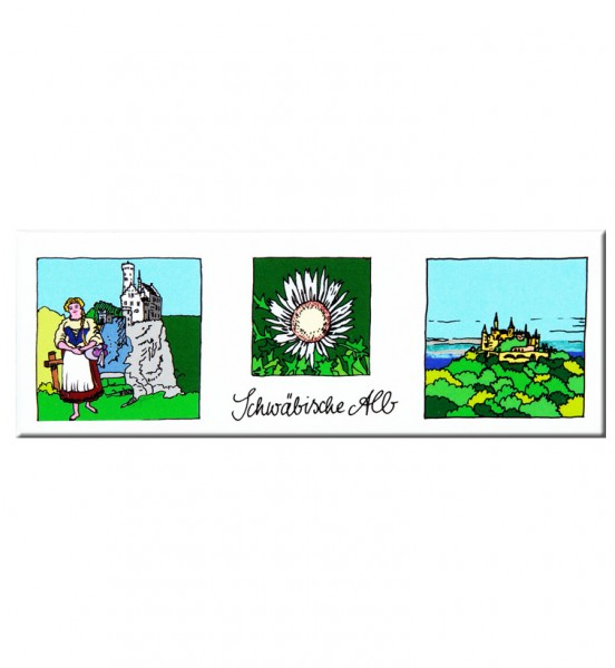 Panoramamagnet - Schwäbische Alb / Edition Bachschuster