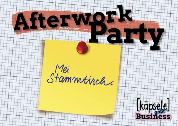 Postkarte - Afterwork Party - Mei Stammtisch