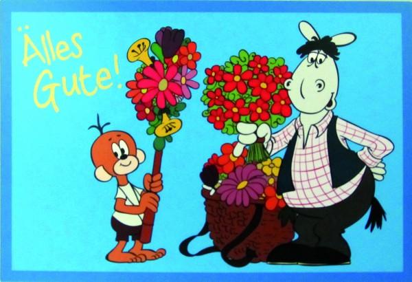 Postkarte - Älles Gute!