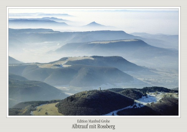 Postkarte - Rossberg
