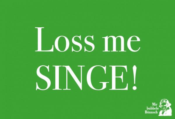 Magnet - Loss me singe!