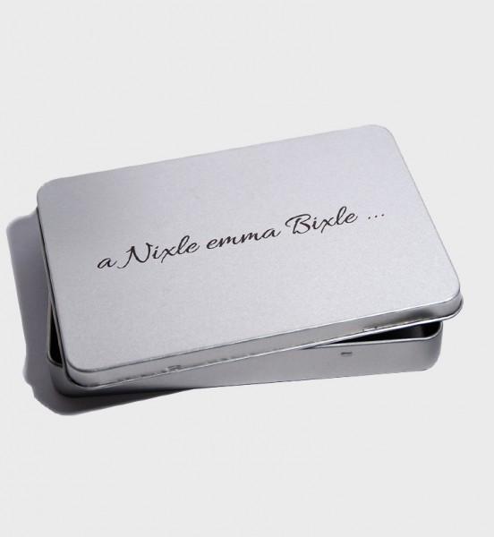 """Geschenkbox - """"a Nixle en ma Bixle"""""""