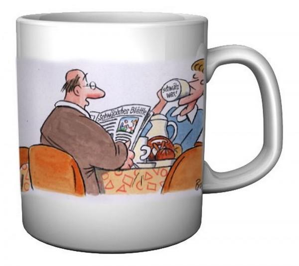 Tasse - Endlich die Tasse für dei schwäbische Ehefrau