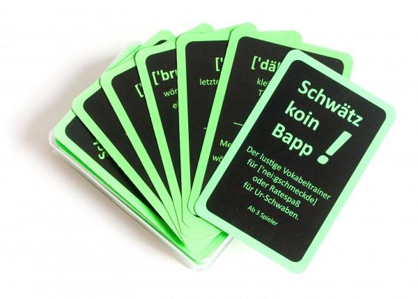 Kartenspiel - Schwätz koin Bapp!