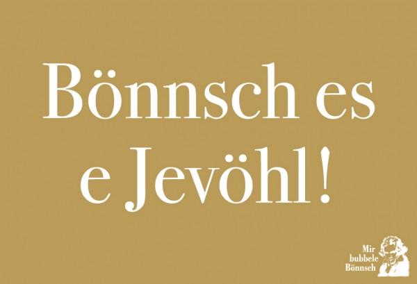 Magnet - Bönnsch es e Jevöhl!
